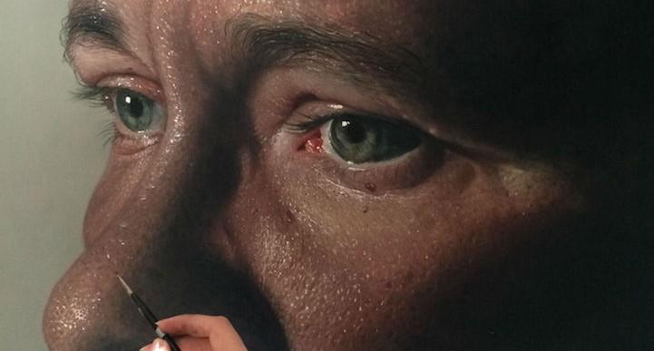 Esta talentosa pareja crea espectaculares pinturas hiperrealistas