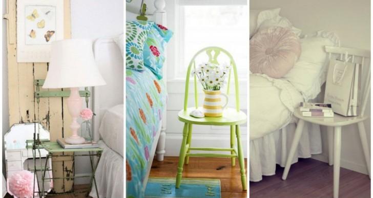 28 ideas creativas para tener mesas de noche diferentes