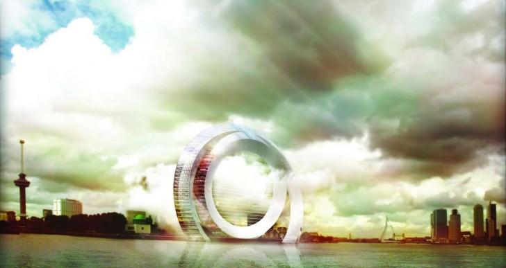 Algún día podrás vivir en una enorme turbina eólica