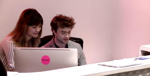 ¿Qué harías si Daniel Radcliffe fuera recepcionista en tu oficina?