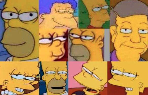 Ríe o llora con las peores caras de los Simpson