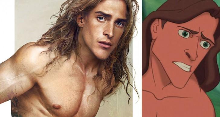 Cómo se verían los príncipes de Disney en la vida real
