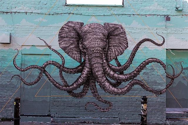 Un pulpo-elefante y otros espectaculares animales híbridos