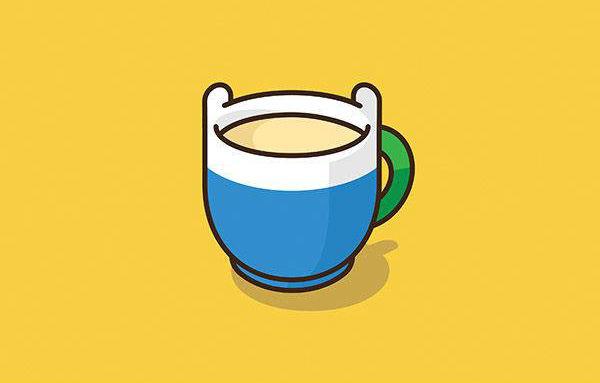 24 personajes de la cultura pop ilustrados en forma de taza