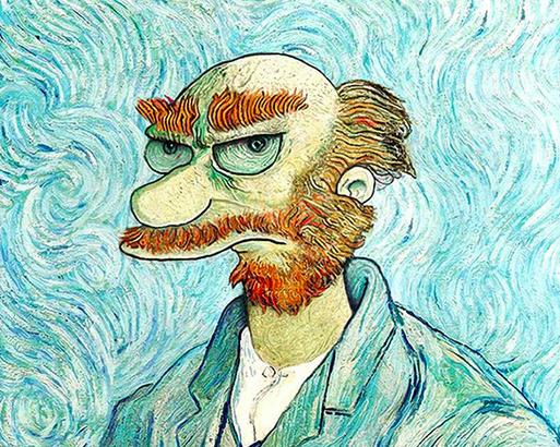 Si Monet hubiera pintado a Darth Vader y a otros personajes