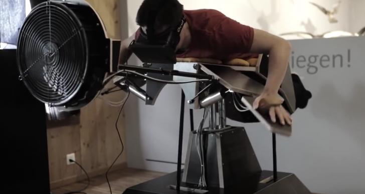 Birdly, un increíble simulador que te hará sentir que vuelas como ave