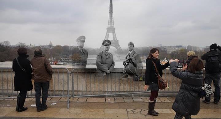 Viaje visual en el tiempo: Pasado y presente de la Segunda Guerra Mundial