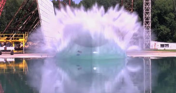 La fascinante destrucción de las pruebas de choque de la NASA