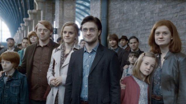 El hijo de Harry Potter empezó hoy en Hogwarts
