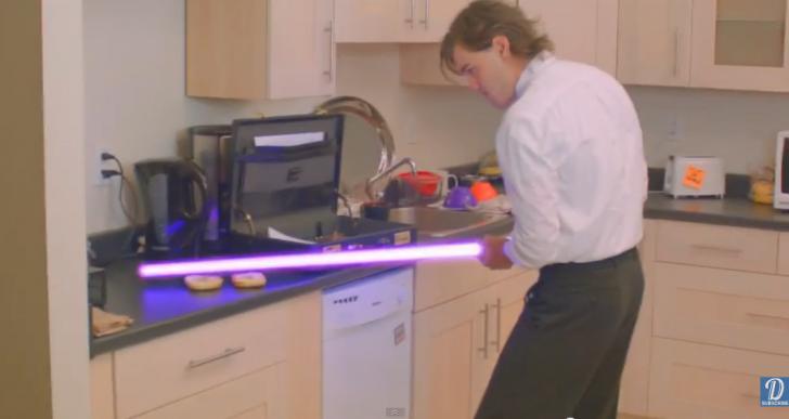 Esto es lo que es tener a un Jedi en la oficina