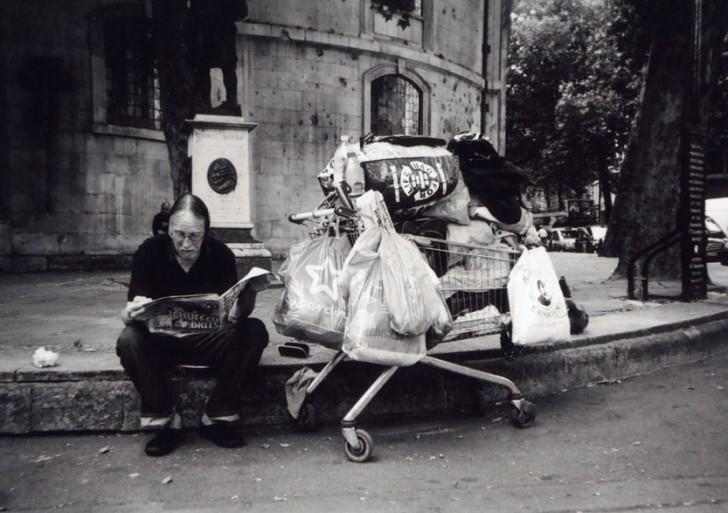 Así se ve Londres cuando es fotografiada por sus vagabundos