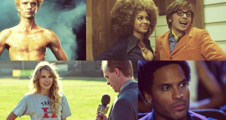 11 cantantes que olvidaste que salieron en películas
