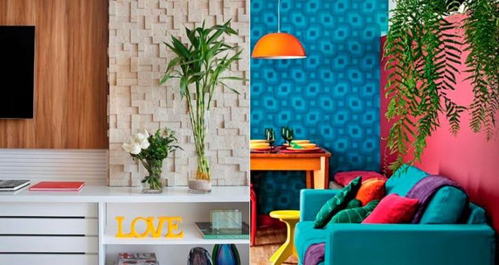 15 excelentes ideas para usar plantas en la decoración de tu casa