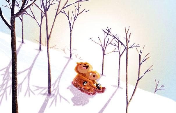 Ilustraciones para niños hechas con amor por Nidhi Chanani