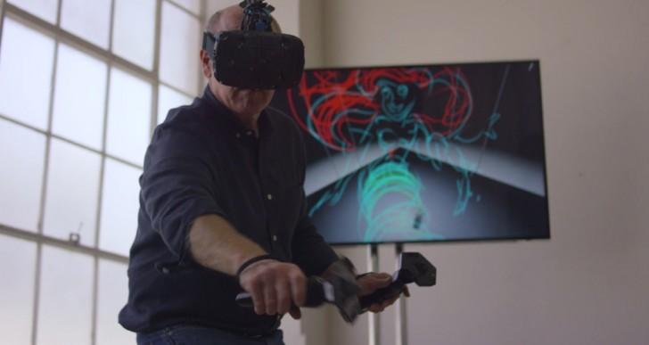 Mira a un animador de Disney dibujar con realidad virtual