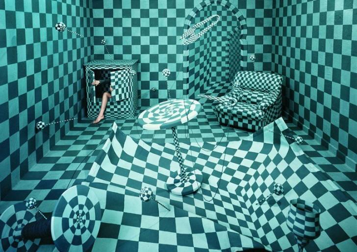 Su cuarto es una obra de arte que cambia según sus sueños