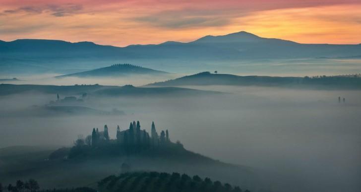 Sublimes fotos de los campos toscanos por Mauro Maione