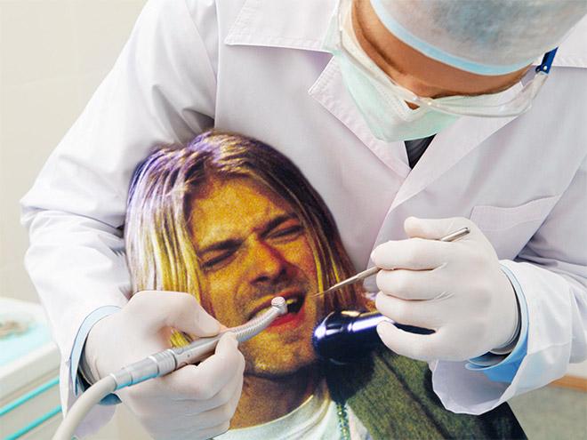 Rockeros que sufren la ida al dentista, igual que tú