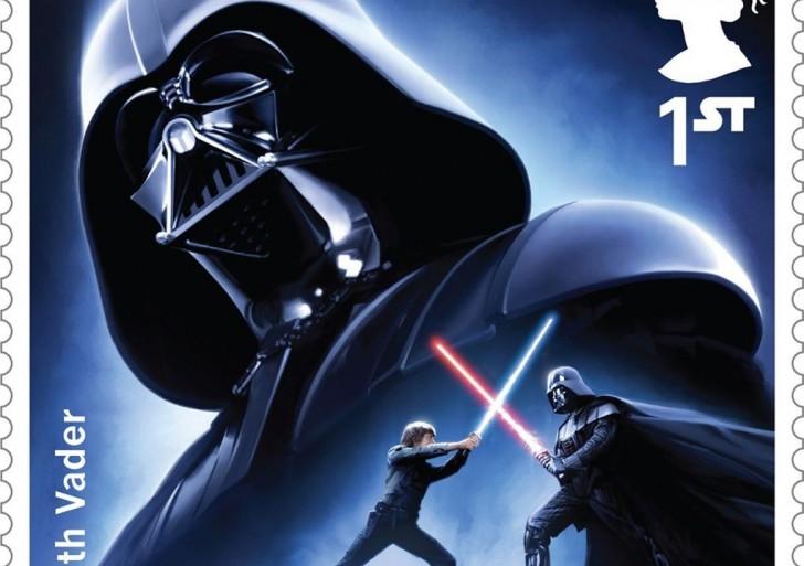 Estas estampillas de Star Wars te van a encantar