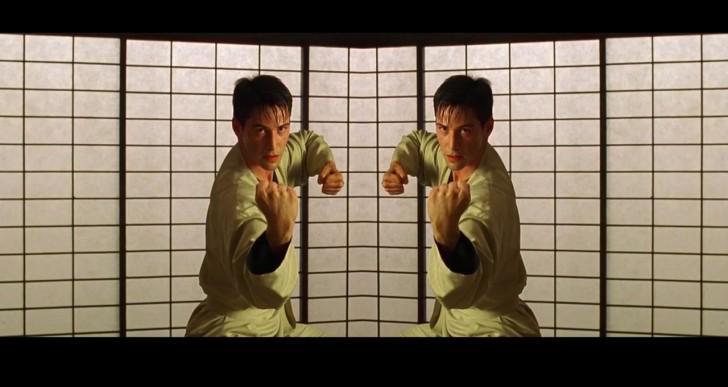 Un vistazo de la simetría y las increíbles tomas de Matrix