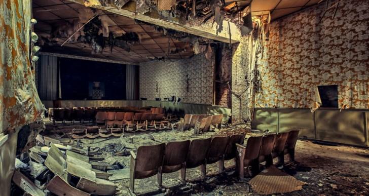 Estas fotografías de edificios abandonados son hermosas