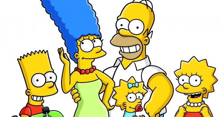 ¿Puedes distinguir los personajes de Los Simpsons por su color?