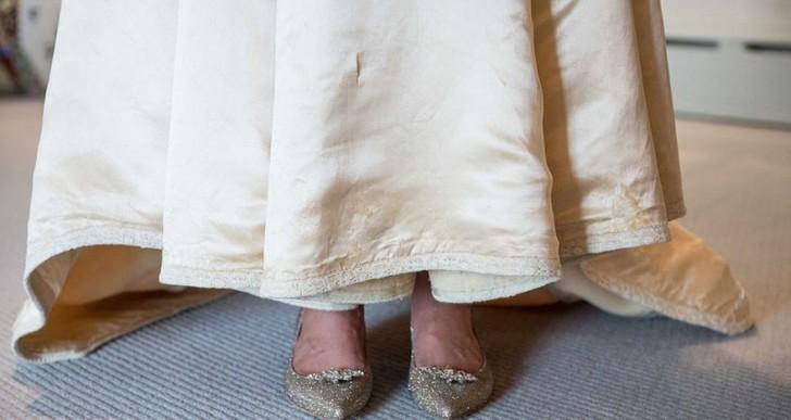 Esta novia usó un vestido espectacular en su boda