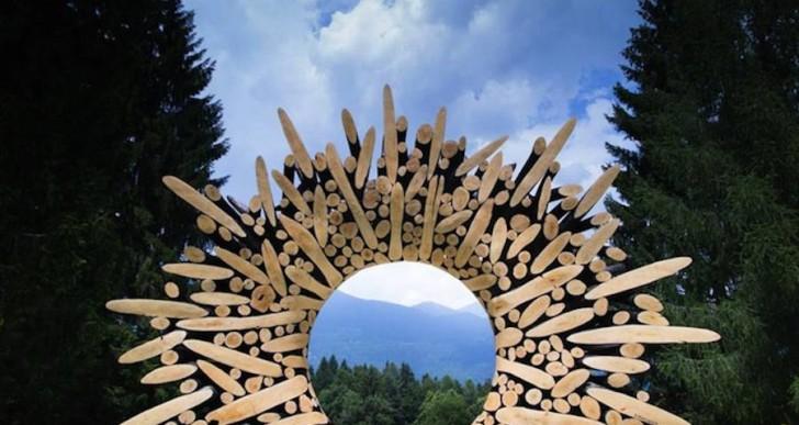 Este artista crea impresionantes esculturas con madera vieja