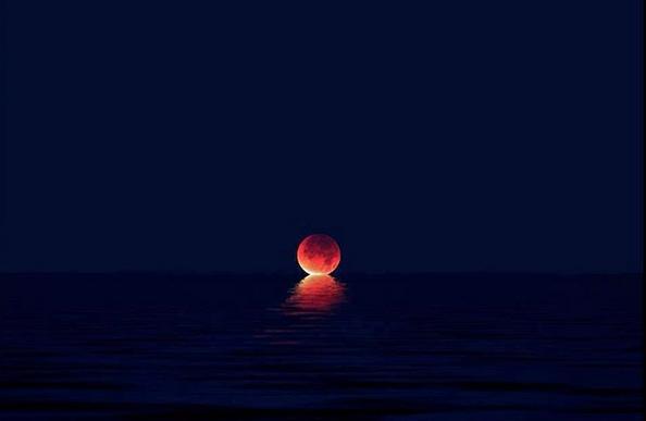 Las fotos más hermosas del eclipse lunar