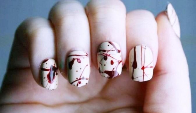 12 escalofriantes ideas para tus uñas en Halloween