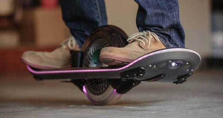 Antes del hoverboard tenemos que pasar por el monoboard