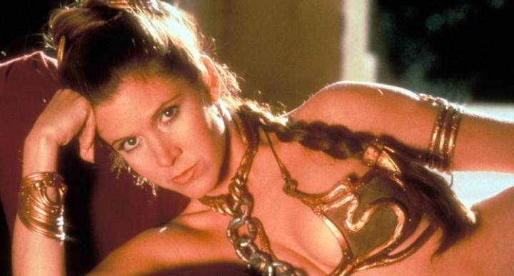 El famoso bikini de Leia fue subastado y pagaron una fortuna por él