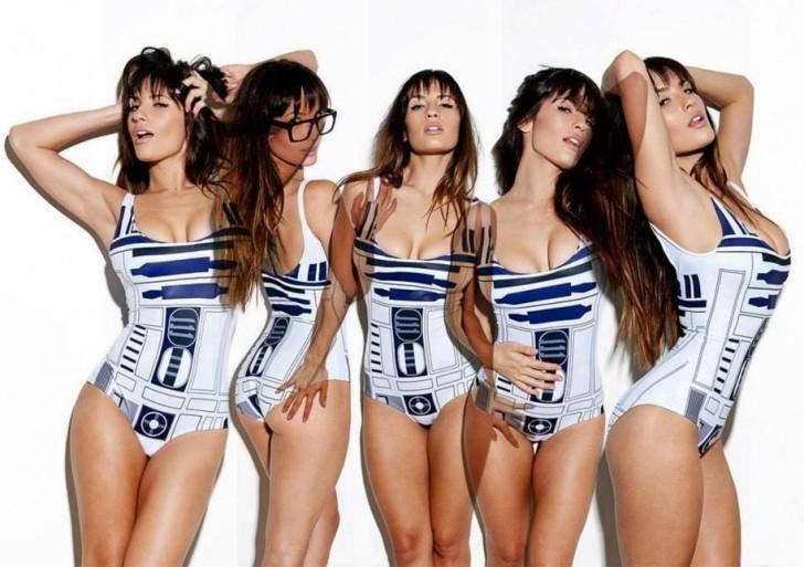 Los disfraces más sexys inspirados en Star Wars