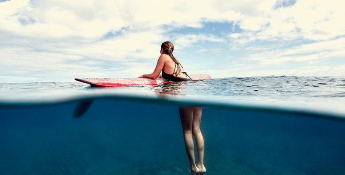 Las fotos que nos enamoraron de las chicas surfers