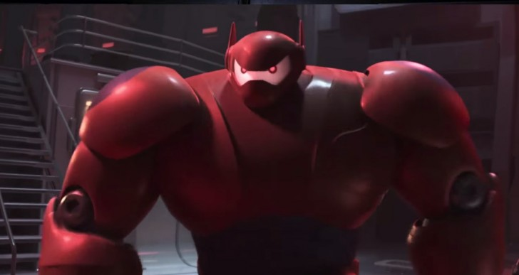 Así sería Avengers si Baymax fuera el malo de la historia