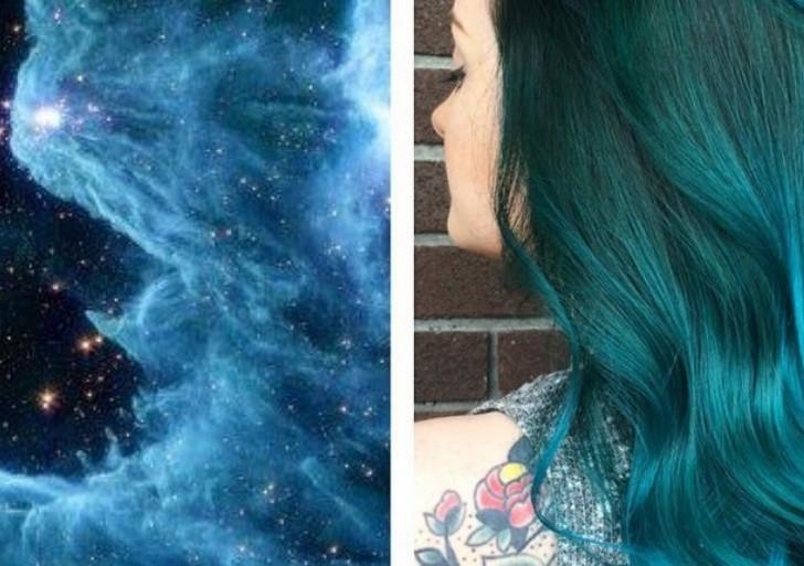 Con este tutorial pinta tu cabello como si fuera una galaxia