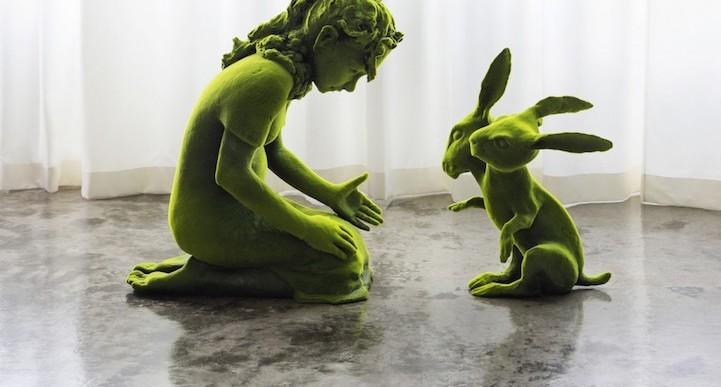 Prepárate para viajar a un cuento de hadas con estas hermosas esculturas