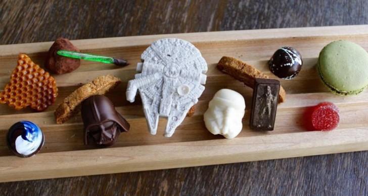 Los chocolates de Star Wars que parecen pequeñas obras de arte