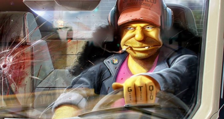 Retorcidas ilustraciones de personajes famosos por Dan Luvisi