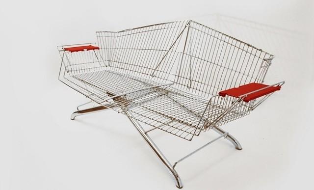 Morirás por llevar estos muebles hechos con carritos de supermercado a tu casa