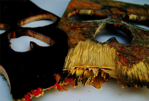Descubre lo que eran estos cráneos antes de convertirse en arte urbano