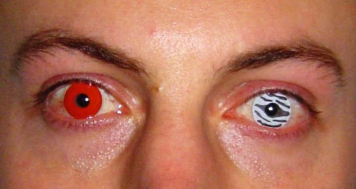 Este halloween ten cuidado con tus pupilentes, podrías quedar ciego
