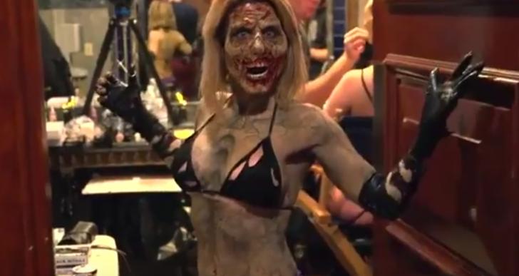¿Qué harías si tu stripper se convirtiera en zombie?
