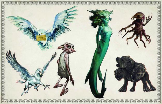 Las ilustraciones del nuevo libro para colorear de Harry Potter son perfectas