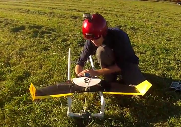 Este innovador dron esquiva todo tipo de obstáculo