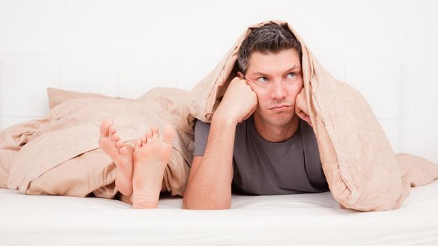 5 causas inofensivas de la disfunción eréctil