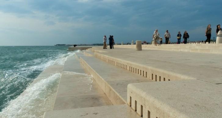 Este increíble órgano de mar utiliza olas para crear música