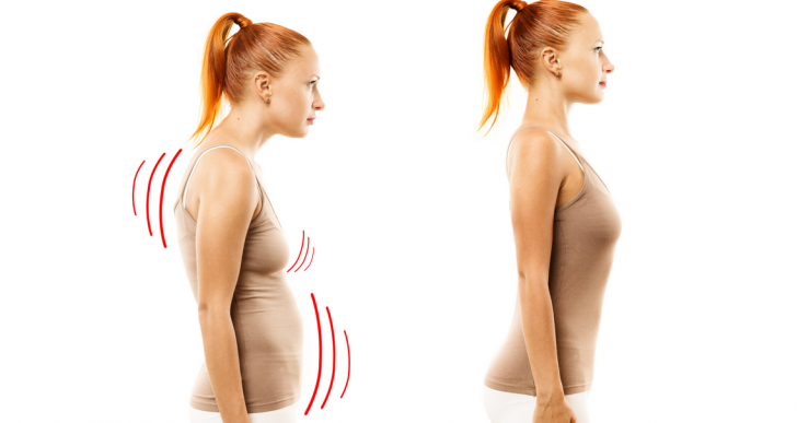 Esto pasa con tu cuerpo cuando corriges tu postura