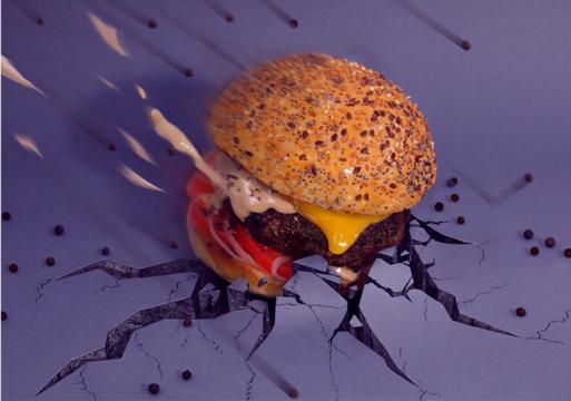 Estos chicos aman tanto a las hamburguesas que decidieron reinventarlas