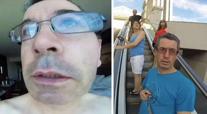 Esto es lo que podría pasar si le prestas a tu papá tu GoPro para grabar su viaje